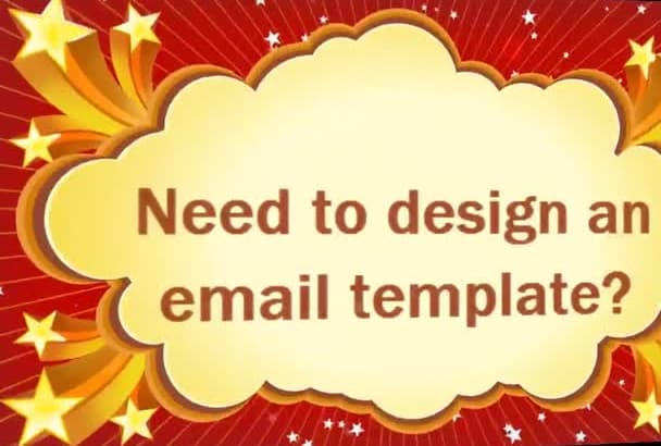 setup your mailchimp campaign and create email template