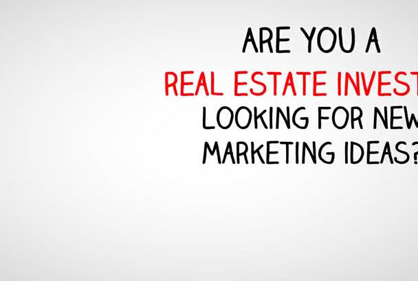 provide a great explainer real estate video
