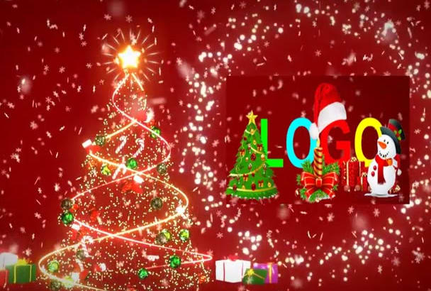 awesome Christmas New Year Video greeting