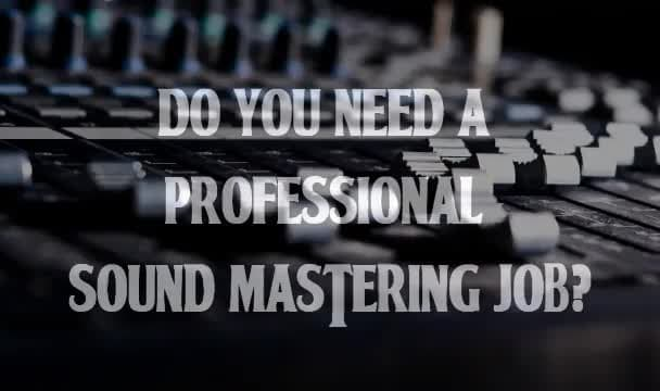 professionally master your song or album