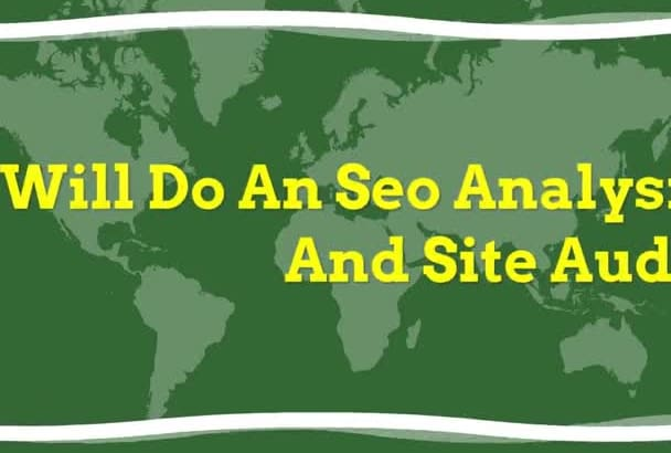 do an SEO analysis and site audit