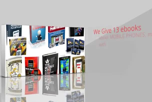 give you 13 ebooks about MOBILE Smart Phones most with mrr