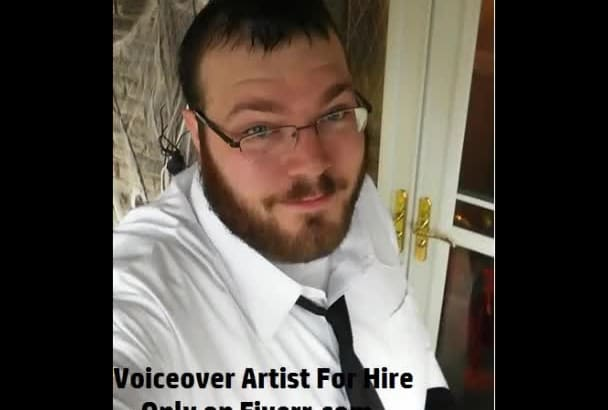 record a deep low voiced male voiceover