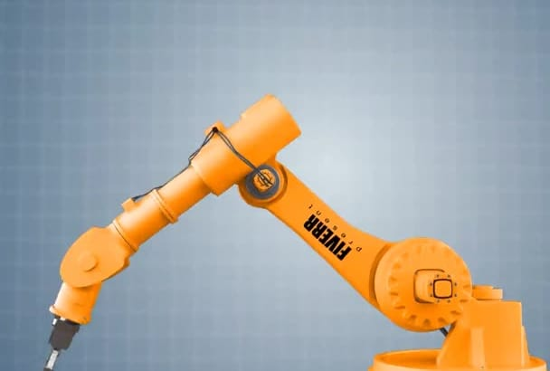 make this Industrial ROBOT Intro for your logo or text