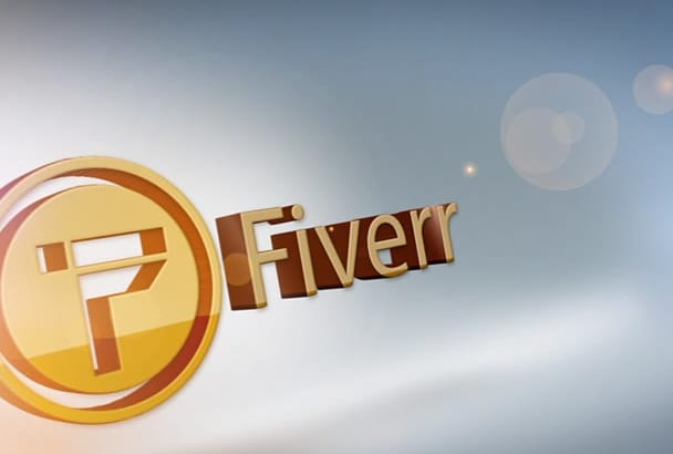 design an elegant logo video intro