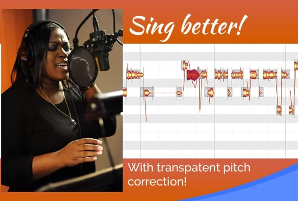pitch correct your vocals note by note