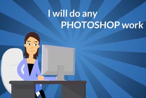 do any PHOTOSHOP work in 12hours