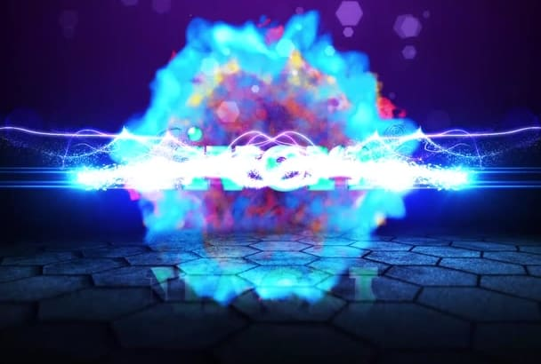 make for you this epic explosion logo reveal