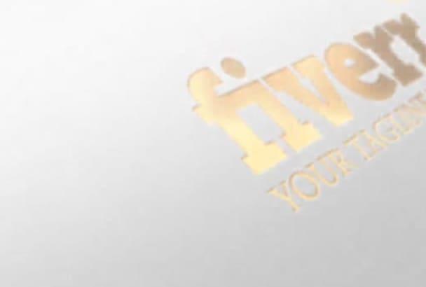 make 3D Logo Intro