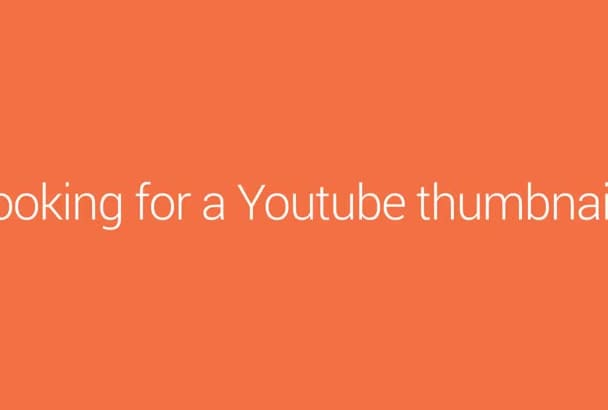 create a thumbnail for your Youtube series
