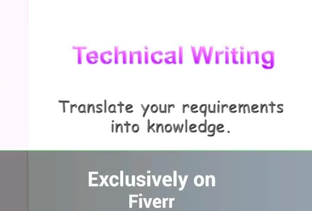 write articles and tutorials