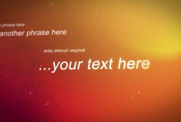 design A Great Video For Your Phrases or Quotes