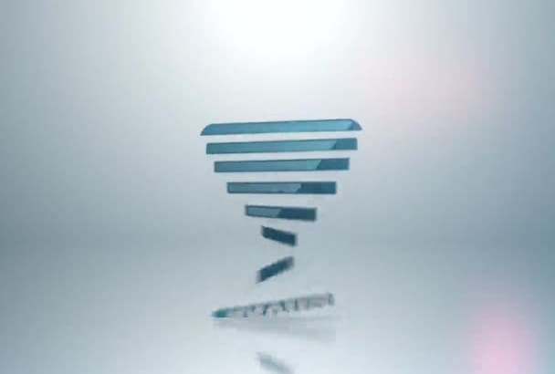 design this AMAZING flip intro with your logo and text