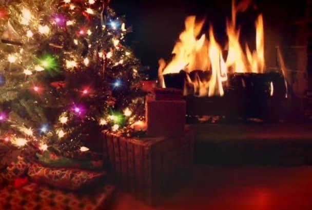create one Wonderful Christmas Video