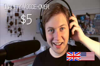 create a quality voice over
