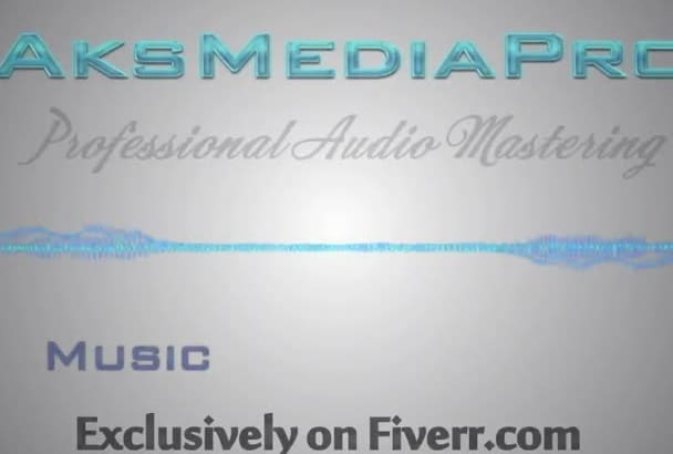 do Audio MASTERING with Pro quality