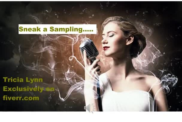 voice your advertisement in an American female voice over
