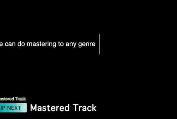 make a BIG sound and awesome mastering of your song