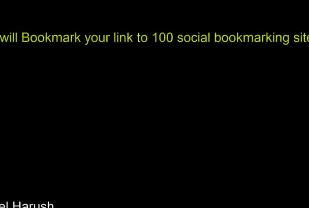 bookmark your link to 100 social sites