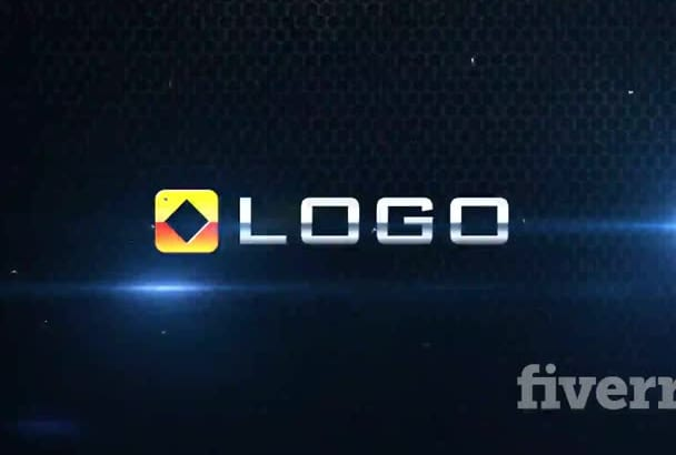 make Dark Shattered 3d Logo Light Implosion Intro