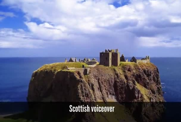 do a braveheart style voicover