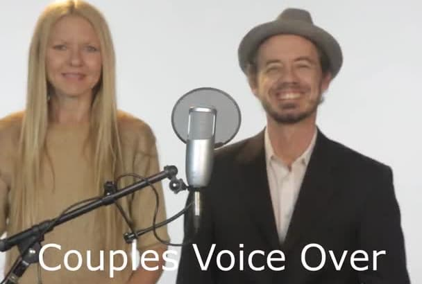 a PRO couples voice over