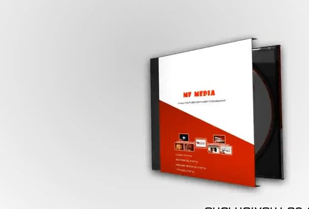 make this perfect long intro 3D cd cover in full hd 0053a