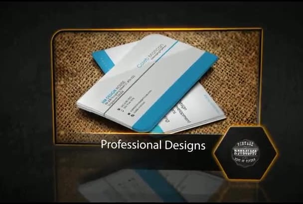 design Professional Business cards in two hours
