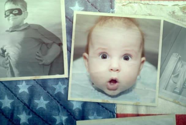 create a Patriotic Photographic Slideshow Presentation