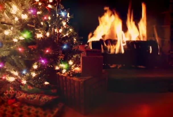 create a Elegant Christmas Slideshow Presentation