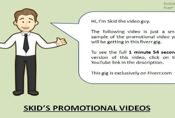 create a branded SEO service provider promotional video