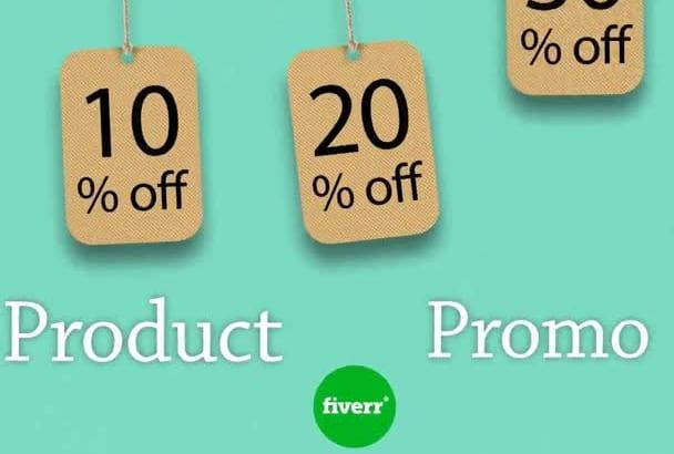 amazing Sale Product Promo Video HD