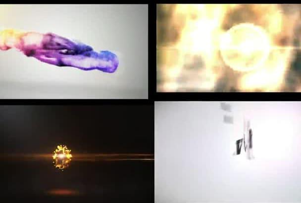 create 4 Amazing Logo Intro Animation