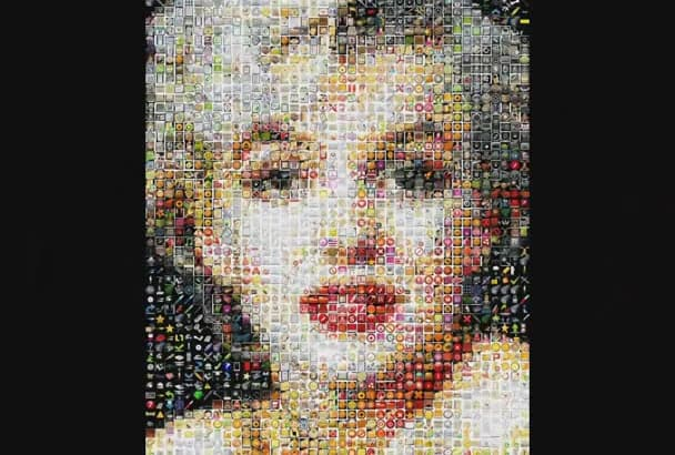 make an amazing MOSAIC picture for you