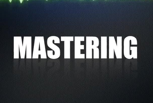 master your track, for Soundcloud, iTunes FREE Demo same day