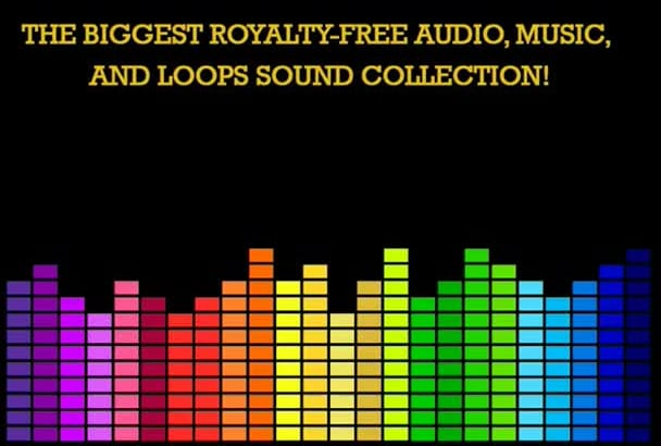 give you almost 2 GB of royalty free audio files