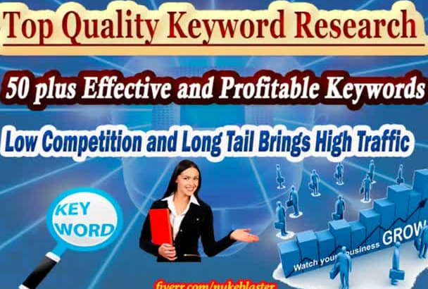do Keyword Research For 50 Highly Profitable KW