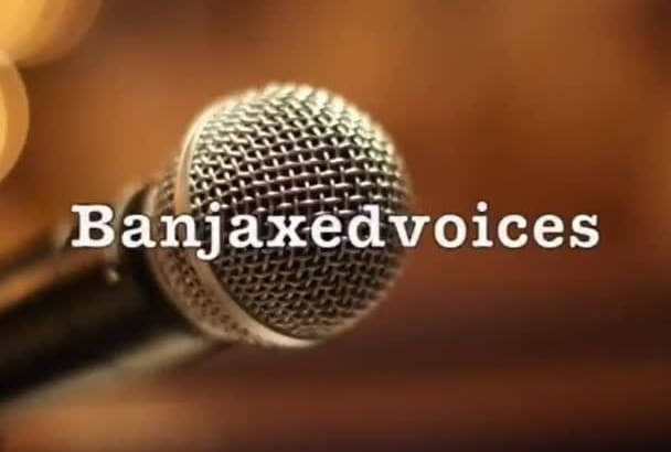 professionally voice your next project