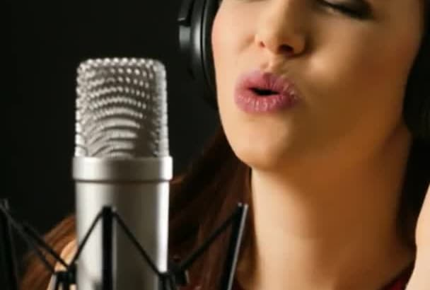 record a female voiceover in spanish professionally