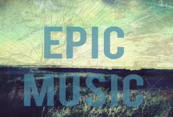 make EPIC music for your project