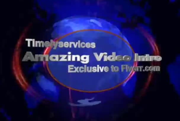do amazing video INTRO