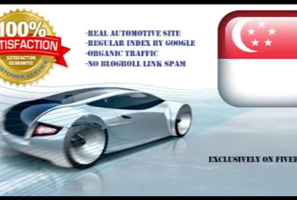 guest post on my Singapore Automotive Site