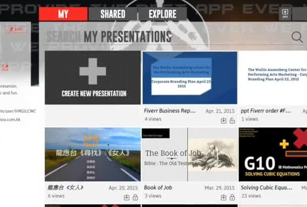 turn your Powerpoint into awesome Emaze Presentation