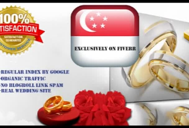 post your guest post on my Singapore Wedding Site