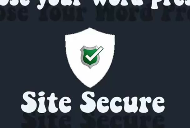 secure your word press site and remove error