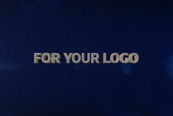create a video intro for your logo