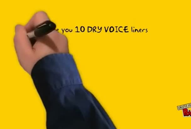 record TEN dry voice liners your internet station