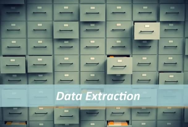 do Data Collection, Extraction, Mining and Web Scraping