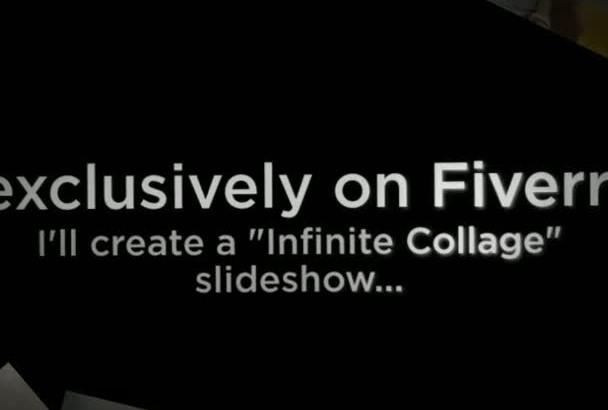 create a Infinite Collage Slideshow Presentation