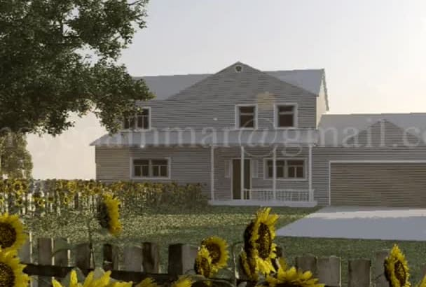 3d Architectural Rendering UNLIMITED Revisions